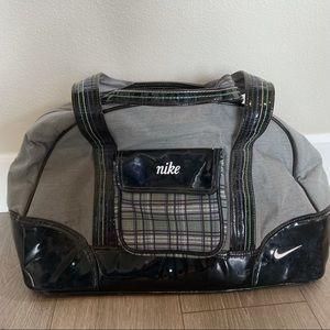 Vintage Plaid Nike Shoulder Bag